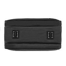 Чоловіча сумка Wallaby підлозі каркас 36х26х16 тканина чорний кринкл, ручка пластикова в 26531ч, фото 3
