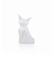 Статуэтка Лисичка керамическая (черный, белый ) 11,5*8*19,5 см ETERNA  2506-19,5