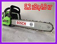 Бензопила Bosch GA52L ( Мотопила цепная Бош GA52L ) 2х-тактная, 45 см шина 5.2 кВт!