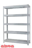 Стеллаж металлический для склада/магазина/гаража ЧК-300 1960х920х600,покрашенный,5 полок ЛДСП, до 500 кг/полку