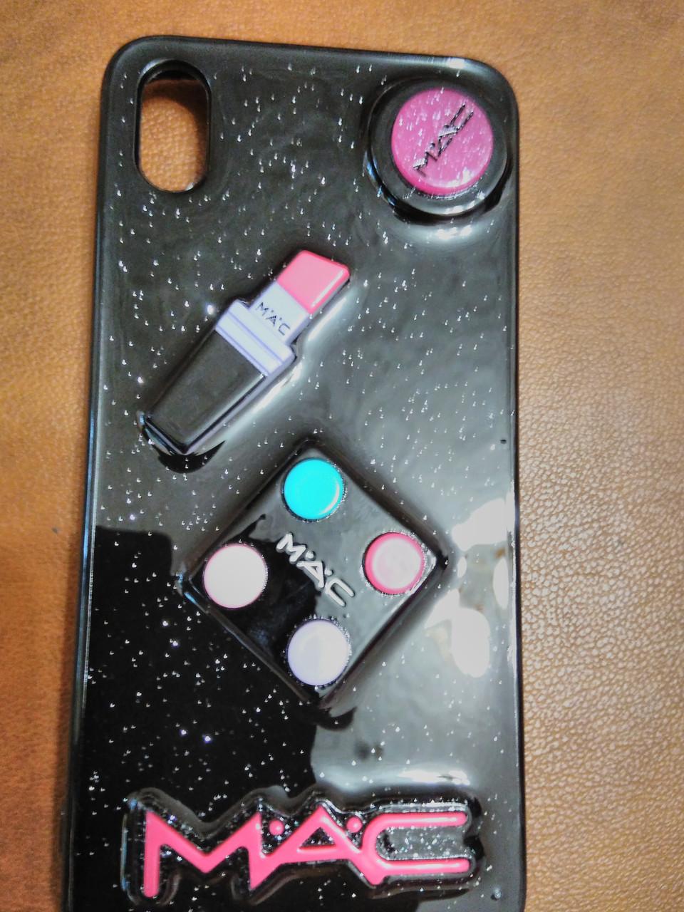 Накладка Cosmetic 3D для Xiaomi Redmi 7 A (черный)