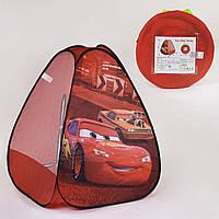 Палатка детская Машинки HF 048 77х77х93 см в сумке Гарантия качества Быстрая доставка