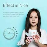 Автоматическая интеллектуальная зубная щетка для детей Beaver V-White, фото 2
