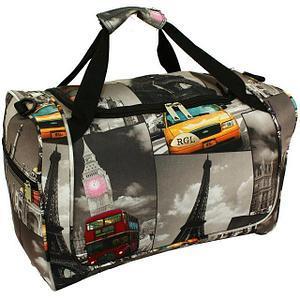 Горизонтальные дорожные сумки