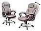 """Кресло Офисное Компьютерное Sofotel EG-222 Черное """"Кресло руководителя"""", фото 7"""