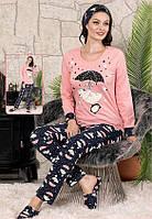 Пижама женская с начесом Турция