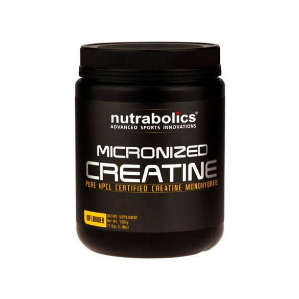 Micronized Creatine (500 g, unflavored) NutraBolics
