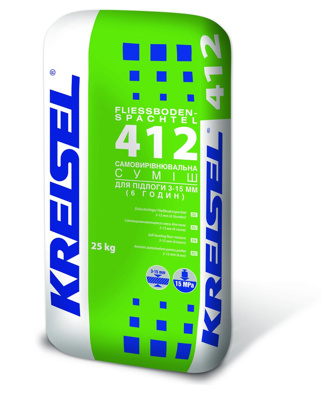 KREISEL самовыравн.підлогу 3-15 мм №412, 25кг