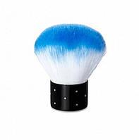 Кисть-щетка для пыли с голубым  ворсом, шт