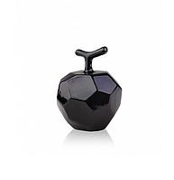 Декор Яблочко керамический (черный, белый) 9*9*11 см ETERNA 2025-11