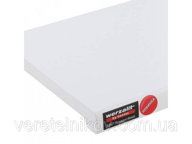 Подоконники Werzalit Gentas (Верзалит Гентас) Полярно белый 3097