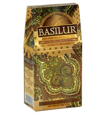 Чай черный байховый Basilur Восточная коллекция Golden Crescent (золотой месяц) 100g, фото 2