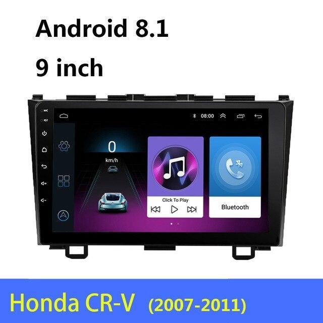 Штатная Магнитола MARSHAL H9017 Honda CR-V 2007-2011 8 ядерная  2gb / 16 gb Android 8.1 GPS