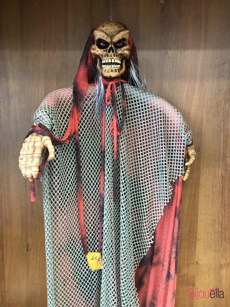 Хеллоуин декор череп музыкальный большой 1.5*1 м подвесной