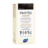 Фито крем-краска Phytocolor Colorations тон 4 (шатен), фото 1