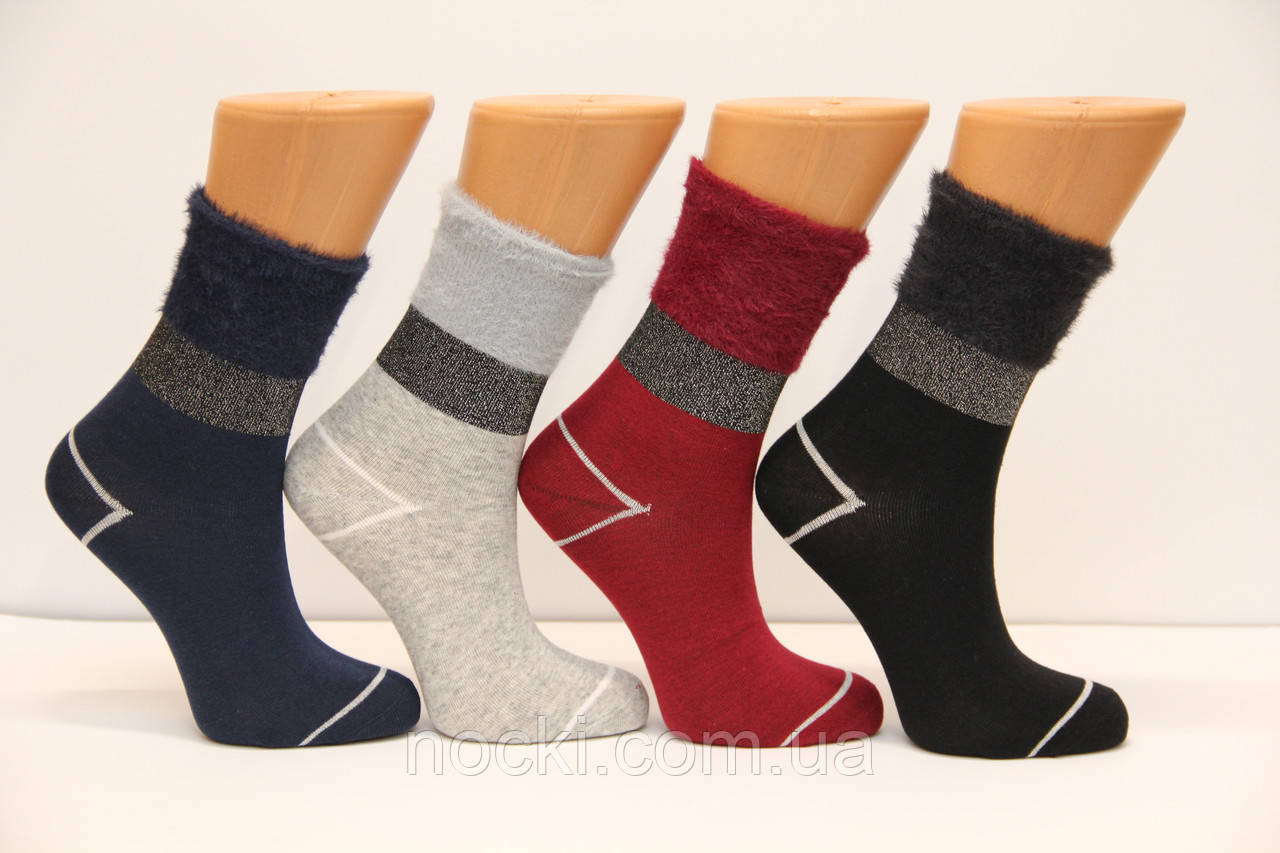 Женские носки средние с ворсистым верхом LM 2-8