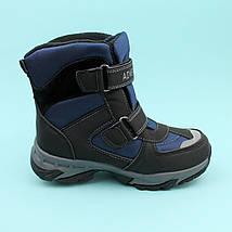 Термо ботинки для мальчика зима синие тм Том.м размер 37, фото 3