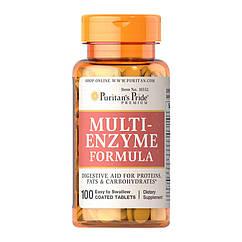 Puritan's Pride Multi Enzyme Formula (100 таб)