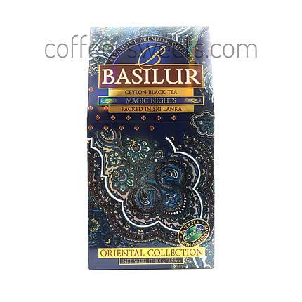 Чай черный байховый Basilur Восточная коллекция Magic nights (Магическая ночь) 100g, фото 2
