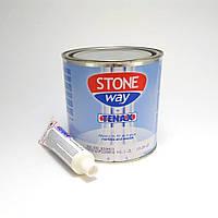 Светло-бежевый клей-шпатлёвка Solido Stoneway для камня (1л) TENAX