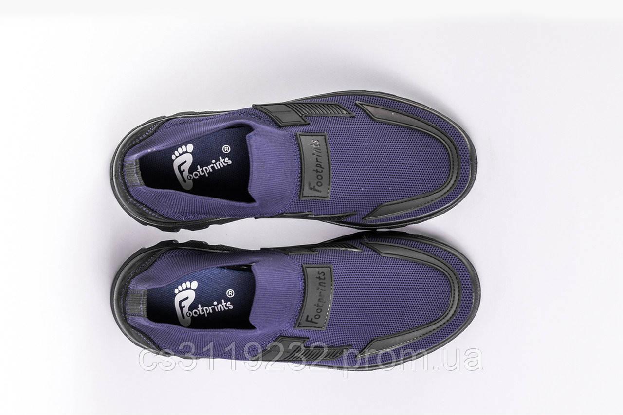 Кроссовки летние Footprints синие