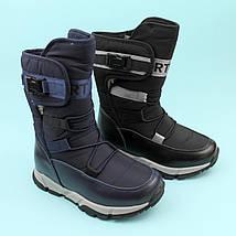Синие дутики для мальчика зимняя обувь тм Том.м размер 31, фото 3