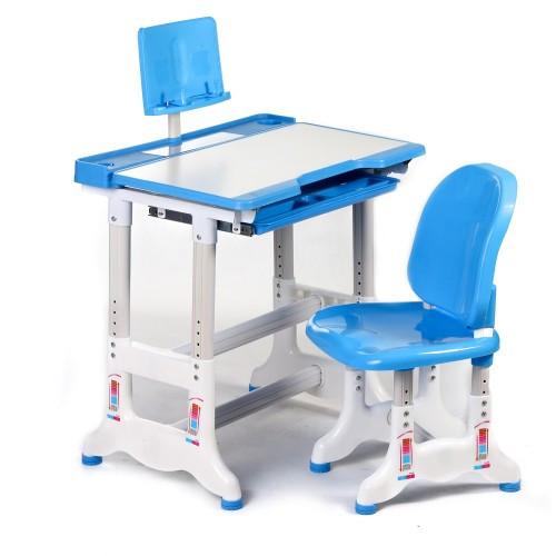 Детская парта и стульчик для обучения и занятий (пластик)