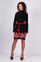 Красивое женское платье в этностиле, фото 1