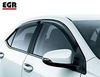 Дефлекторы окон (ветровики),  (EGR) - Corolla - Toyota - 2013 92492070B