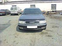 Дефлектор капота (мухобойка). (VIP Tuning) - 100 - Audi - 1990