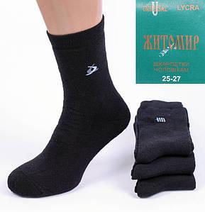 Мужские махровые носки Житомир AM32-3. В упаковке 12 пар. Размер 39-42.