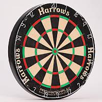 Мишень для игры в дартс из сизаля MARDLE PRO MATCHPLAY BOARD Оригинал. Премиум качество.