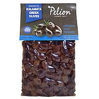Оливки темні сорти Каламон у вакуумі 200 гр