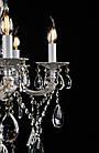 Классическая люстра-свеча на 8 лампочек СветМира золотая патина VL-41421/8 (WT+GD), фото 2
