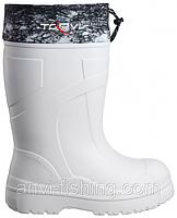 Чоботи для зимової риболовлі та полювання з ЕВА TORVI T -60°C - Білі Розмір 40 з 48,Оригінал ,Дуже теплі