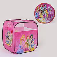 Детская палатка игровая Принцессы Дисней 8008 Р 74х74х82 см в сумке Гарантия качества Быстрая доставка