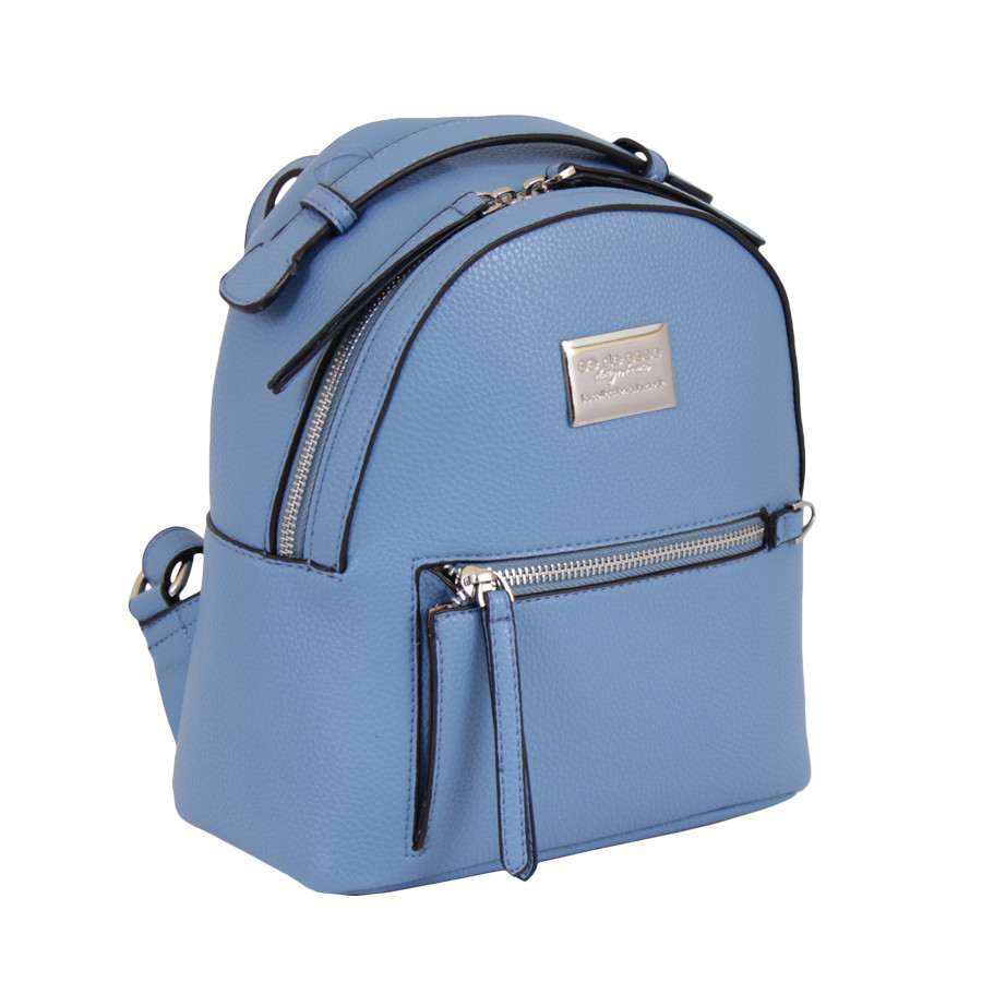 Сумка-рюкзак женская de esse голубой