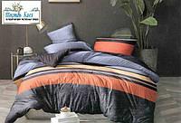 Евро комплект постельного белья Сатин 200х215 см.