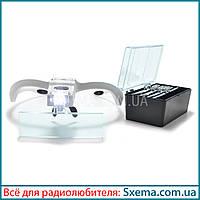 Бинокулярные лупы очки 9892BP (1.0x-3.5x) c Led подсветкой, фото 1