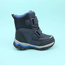 Термо ботинки синие на мальчика Паучок тм Том.м размер 25, фото 3