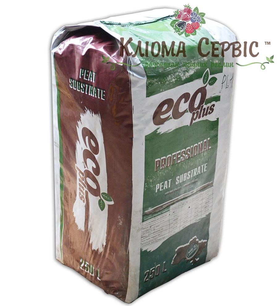 Торфяной субстрат ECO PLUS PL-1, 250 литров