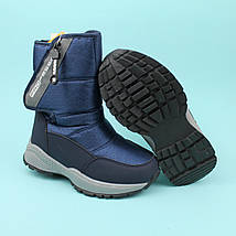 Сапоги зимние термо дутики для мальчика синие тм Том.м размер 27,29,32, фото 3