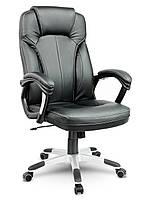 Кожаное офисное кресло Sofotel EG-222 черное