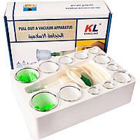 Набор вакуумных массажных банок KANGLING (12шт ) D1041