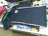 Платье туника детское ангоровое с лампасами р.122 - 140