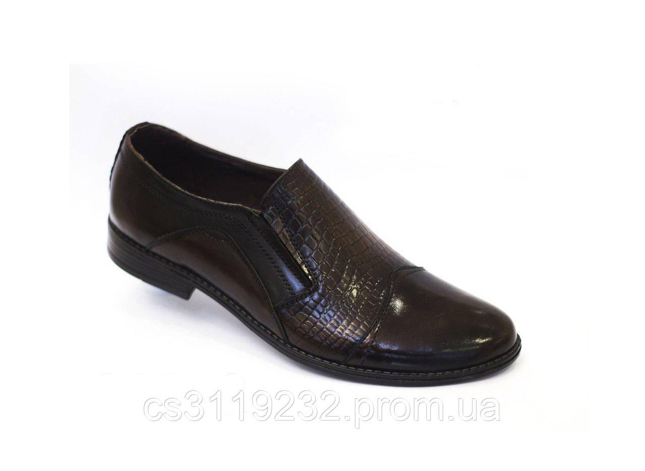 Туфлі чоловічі VadRus чорні