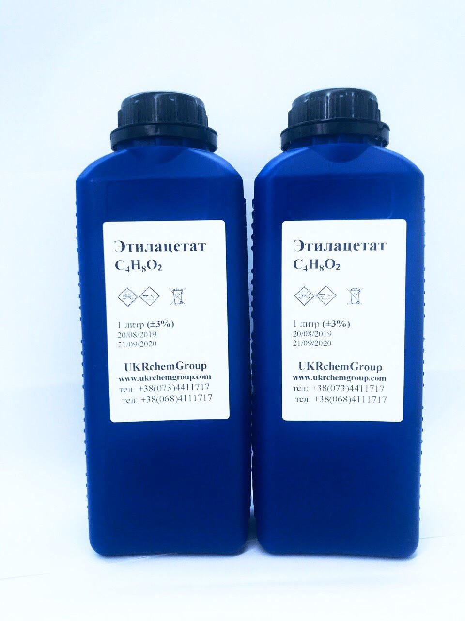 Этилацетат тех  марка А CH3C(O)OC2H5