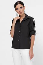 Женская рубашка с лентами вдоль рукава (Santi fup), фото 3