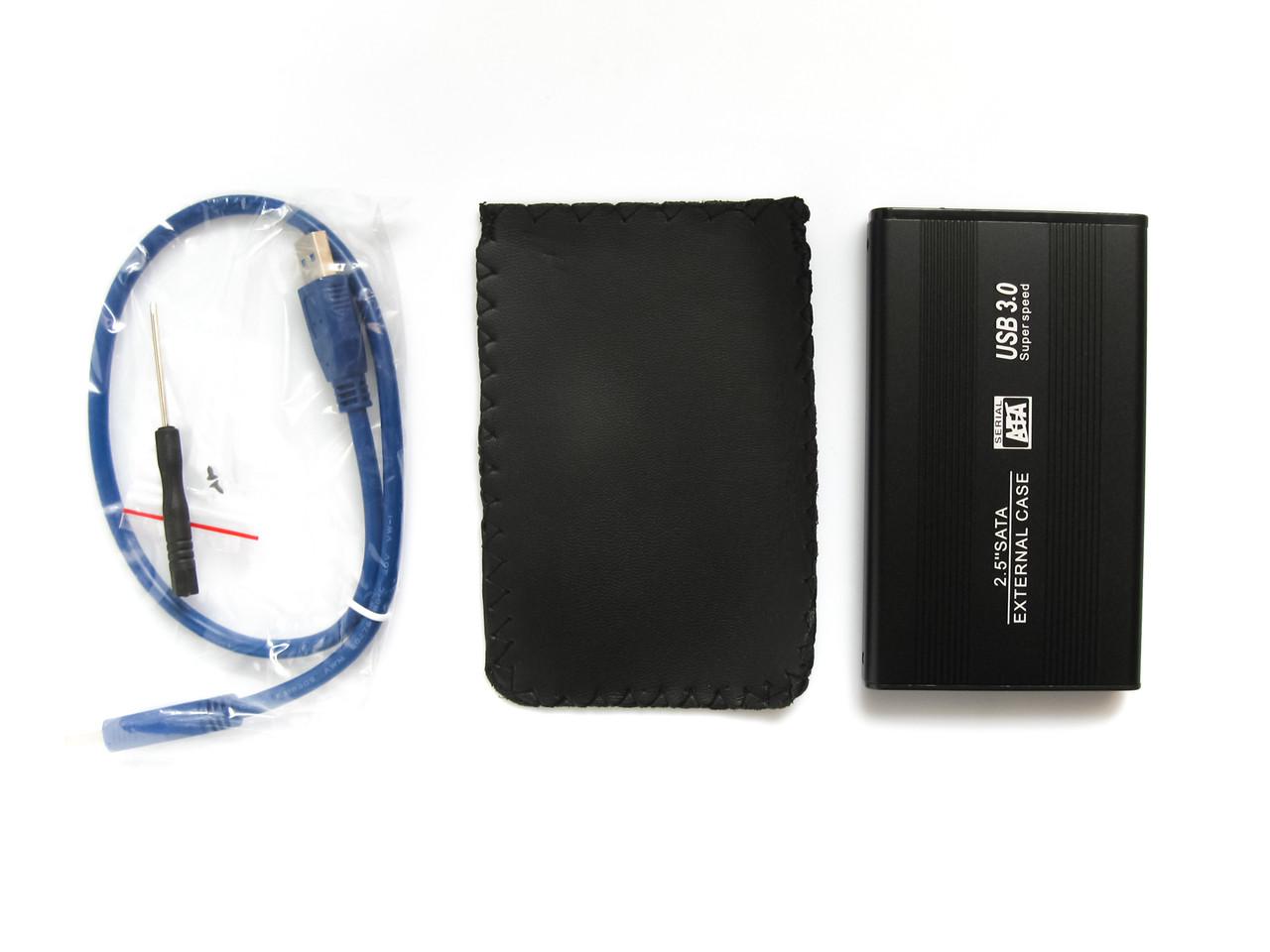Внешний карман для HDD 2.5 дюймов, USB 3.0 - SATA, TRY TB-S254U3, до 3 TB, алюминий