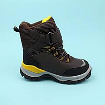 Зимние Термо ботинки для мальчика коричневые тм Том.м размер 30, фото 3